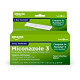 Amazon Basic Care Miconazole 3, Nitrate Vaginal Cream (4%), 3-Day Treatment for Vaginal Yeast Infection, 0.18 Ounce, 0.54 Ounce