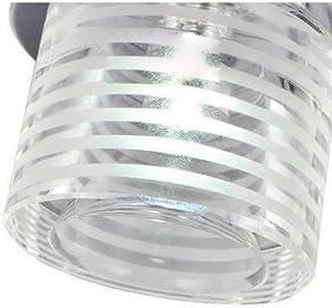 "3"" Small Size Corridor Corridor Ceiling Lamp Balcony Striated Glass Cylinder Hallway Spotlight Hallway Porch Flush-Mounted Ceiling Lighting Fixtures"