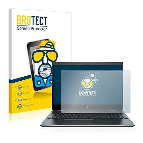 BROTECT Entspiegelungs-Schutzfolie kompatibel mit HP Spectre x360 15-df0126ng Bildschirmschutz-Folie Matt, Anti-Reflex, Anti-Fingerprint