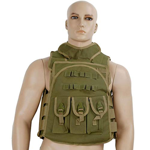 LY-01 Chaleco táctico Militar Chaleco táctico Ajustable Ejército Paintball Airsoft Combat, para...