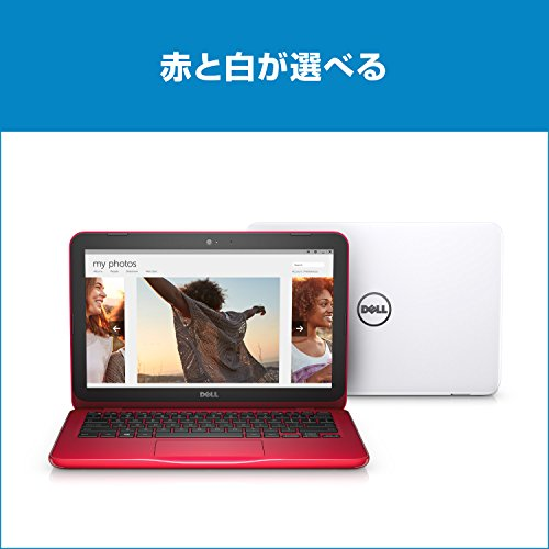 『Dell ノートパソコン Inspiron 11 Celeronモデル ホワイト 17Q11W/Windows10/11.6インチ/2GB/32GB』の1枚目の画像