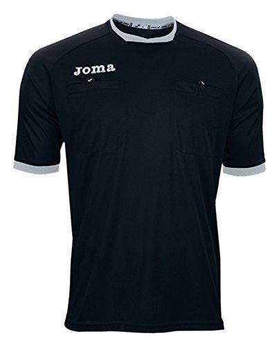 Joma 100011.111 - Camiseta de equipación de Manga Corta para Hombre, Color Negro, Talla S