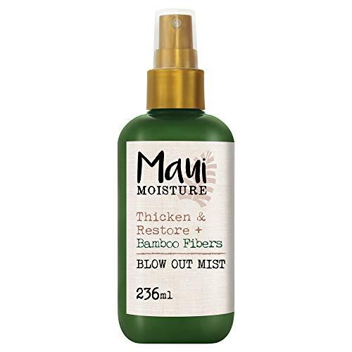 Maui Moisture, Spray Tratamiento Fortalecedor y Reparador Fibras de Bambú, 236 ml