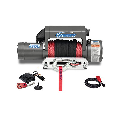 Purchase Ramsey 109212 Winch (Patriot 9500 UT, 12V, with Wireless Remote, Synthetic Rope, Aluminum H...