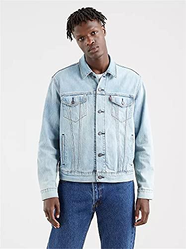 Levi\'s Herren Jeansjacke The Trucker Jacket Größe XL Blau (blau)