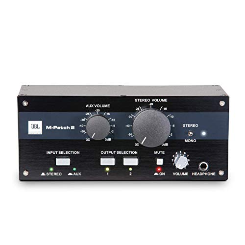 JBL Professional MPATCH2 Multi-Channel Passive Stereo Controller and Switch Box