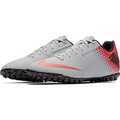 Nike Bomba Tf, Scarpe da Fitness Uomo, Multicolore (Wolf Grey/Black/Bright Crimson 006), 40.5 EU