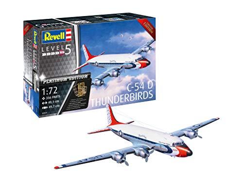 Revell 0392014Maqueta de c-54d Thunderbirds Platinum Edit en Escala 1: 72, Niveles 5