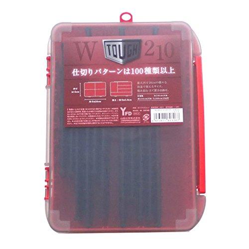 YFD(山田化学) YFD タフケースW210 NO.8032 レッド