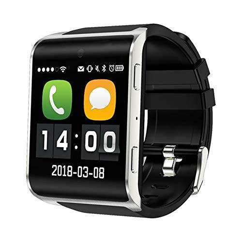 CITW Smartwatch DM2018 des Tragbaren Geräts des Netzwerks 4G 1,54 Zoll GPS Smartwatch-Telefon Android 6.0 Bluetooth 4.0 Update Von DM98,Silver