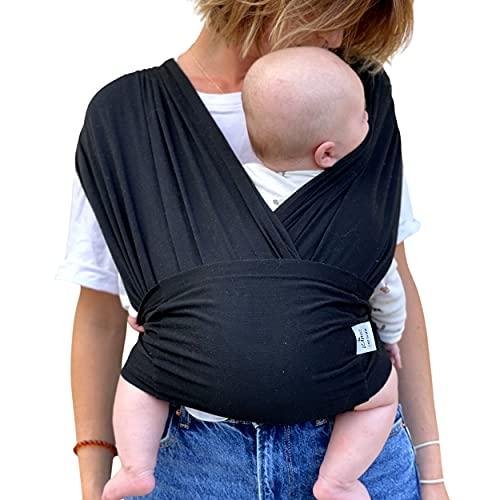 LÉANGE : Écharpe de portage-mains libres rassurant et renforce le lien avec votre nouveau né. facile d'utilisation, facile à laver. Utilisation de...