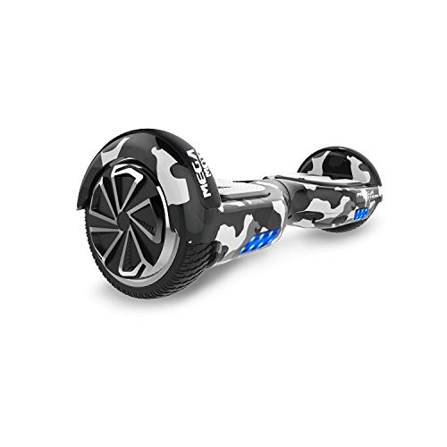SOUTHERN-WOLF Hoverboard Self-Balancing Scooter, 6,5zoll Hover Scooter Board Bluetooth Scooter mit bunten Lichter Bluetooth eingebaute Geschenk für z29 (Army Green)