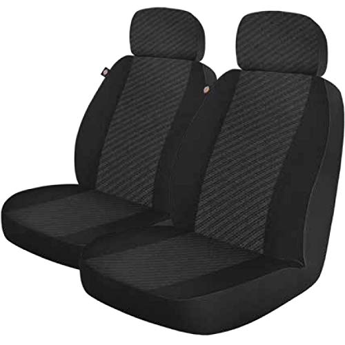 Dickies 3003417LD, Morrisey Black 2-Piece Seat Cover Set