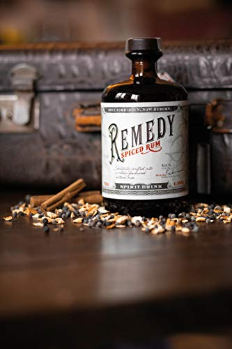 Remedy Spiced Rum (1 x 0,7 l) - Gold Meinigers International Spirits Award 2019 - Feine Noten von u.a : Vanille, Orangenschalen - 7