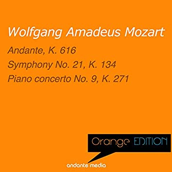 Orange Edition - Mozart: Andante, K. 616 & Piano Concerto No. 9, K. 271