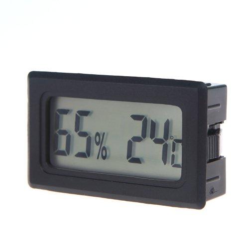 KKmoon Mini Digital LCD Termómetro Higrómetro de Humedad Medidor de Temperatura Interior (Termómetro Higrómetro 2)