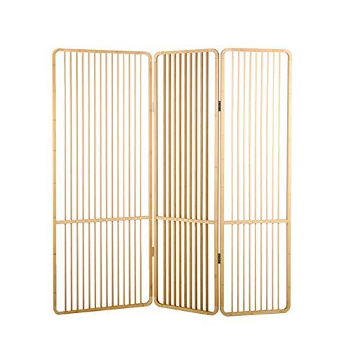 EVEN Chinese Stijl Hout Bamboe Scherm, Houten Hollow Design, Kamer Partitie Meubilair Muur, Partitie Eenvoudig, Vouwen Mobiele Bamboe Scherm Partitie