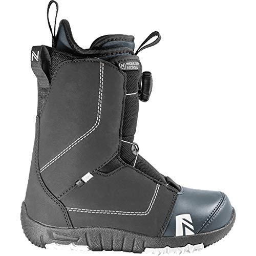 Nidecker - Boots De Snowboard Micron Boa Enfant Noir - Taille 32 - Noir