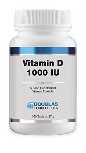 Douglas Laboratories, Vitamin D 1000 IU (100 tablets)