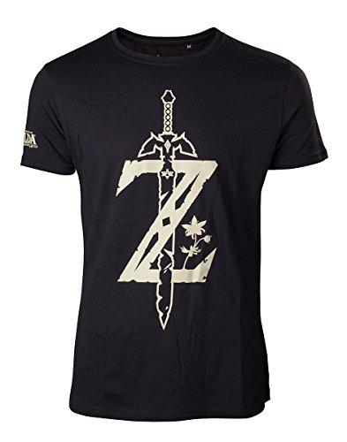 The Legend of Zelda Breath of the Wild T-Shirt Z Sword Size M Bioworld shirts