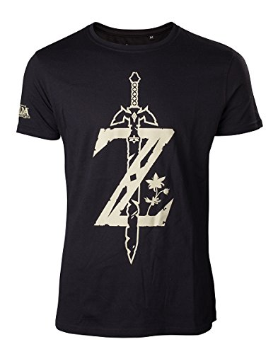 Zelda Breath of the Wild T-Shirt -S- Z mit Schwert