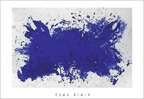 Kunstdruck/Poster: Yves Klein Hommage à Tennessee - hochwertiger Druck, Bild, Kunstposter, 100x70 cm