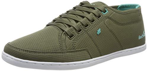 Boxfresh Herren Sparko Sneaker, Grün (Khaki/Turquoise Khk/Tur), 43 EU