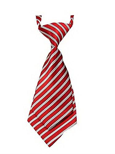 Unique bébé cravate réglable cravate Parti Wedding Show cravate Garçon [Blanc]