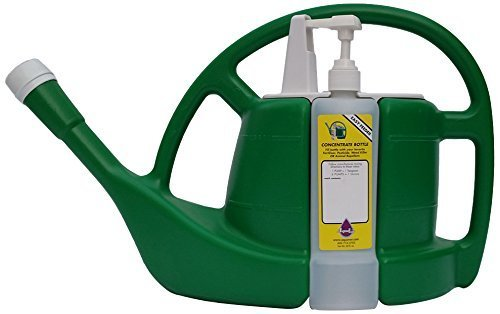 AquaVor 1.5 gallon Watering Can with Built-in Fertilizer Dispenser
