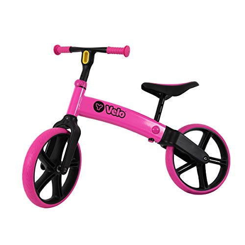 Read About Yvolution Y Velo Senior Balance Bike for Kids | No Pedals Training Bicycle Ages 3 to 5 Ye...