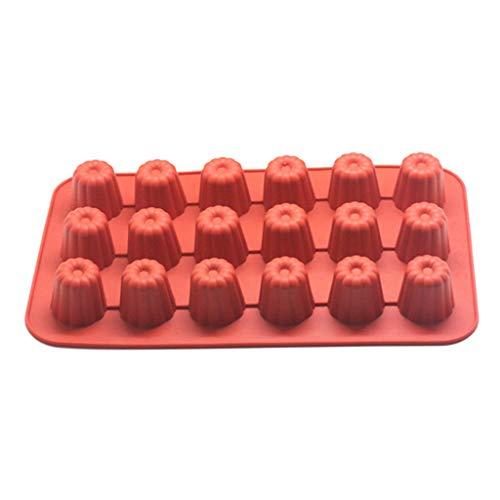 Yintiod 8/18 Bloem 3D anti-aanbak siliconen bakvorm bakken DIY gelei muffin mousse chocolade gereedschap