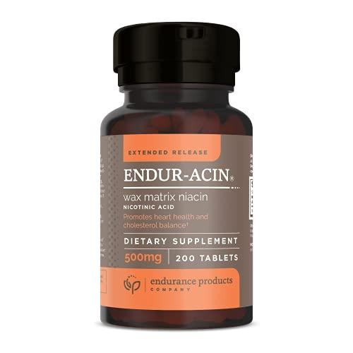 ENDUR-ACIN Niacin - Vitamin B3 500mg Extended...