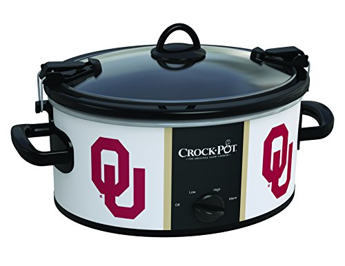 Oklahoma Sooners Collegiate Crock-Pot Cook & Carry Slow Cooker