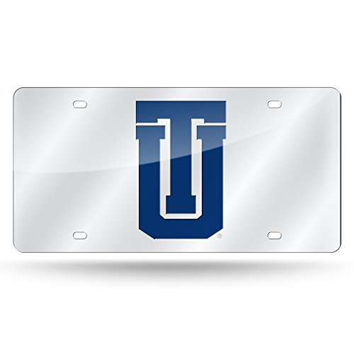 NCAA Rico Industries Laser Inlaid Metal License Plate Tag, Tulsa Golden Hurricane
