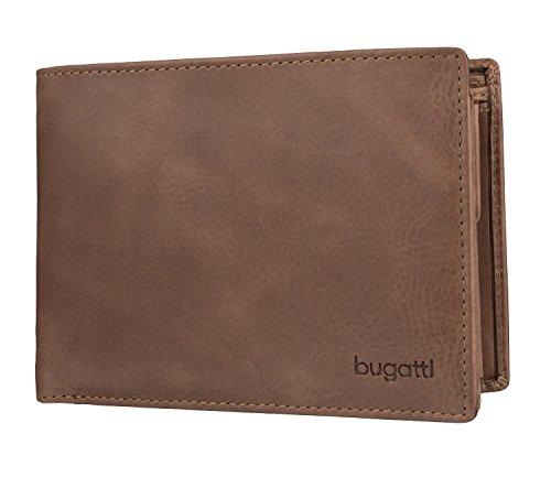 Bugatti Geldbörse Volo, 12cm, braun