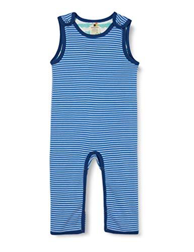 loud + proud Baby-Jungen Reversible Romper Organic Cotton Strampler, Blau (Cobalt Cob), (Herstellergröße: 74/80)