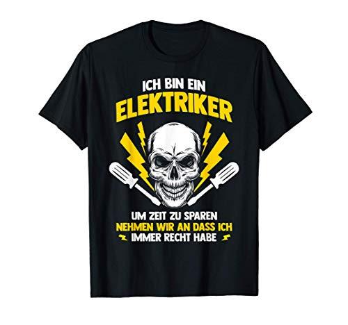 Elektroniker Tshirt Handwerker Werkzeug Elektrotechnik Volt T-Shirt