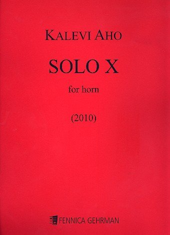 Solo X : for horn