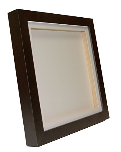 Black 3D Deep Box Picture Frame Display Memory Box For Medals Memorabilia Flowers etc (10x8')