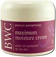 Beauty without Cruelty Maximum Moisture Cream, 2-Ounce by Beauty Without Cruelty Cosmetics