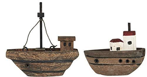Holzschiffe 2erSet von Ib Laursen