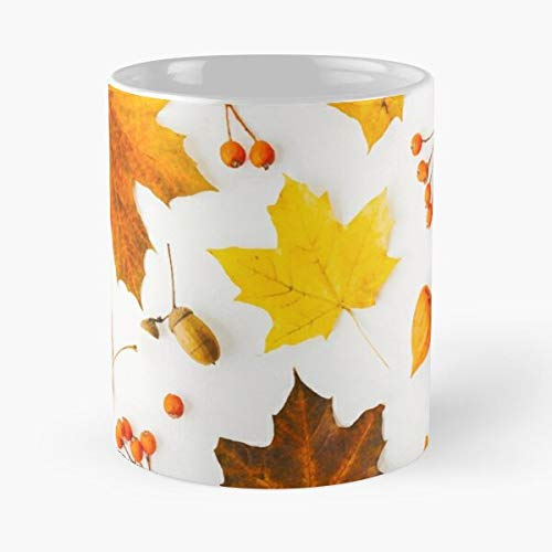 Its Beauty Autmn Weather Is Elements Stay The Painting Giving Digital Watch Atumn Happy To Thanks Halloween Change of Has Withering Here Best 11 oz Kaffeebecher - Nespresso Tassen Kaffee Mot