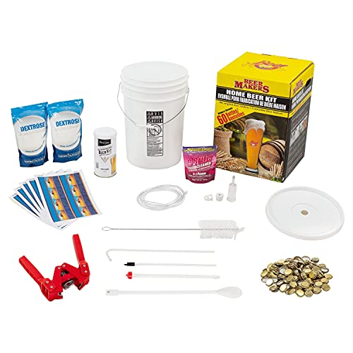 ABC Crafted Series Beer Making Kit | Ingredients and Equipment (Blonde Lager)