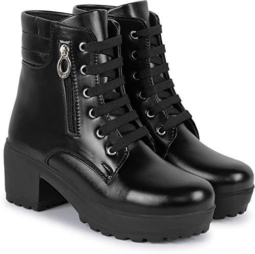 SILVER CAT Women's/Girls Casual Stylish Heel Boot