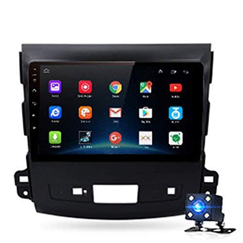 KLL 9 '' HD Android 9.0 Navegador GPS Multimedia para Coche Pantalla Táctil Mapa Gratuito de por Vida Enlace Espejo RDS USB Dab Mic para Mitsubishi Outlander XL 2 2005-2011 4007