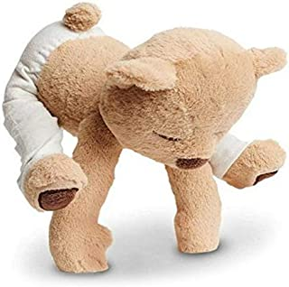 Moonvvin Flexible Remodelable Pose Yoga Bear Cute Bear Soft Plush Toys,30cm