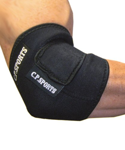 C.P. Sports Neopren Ellenbogen Stützbandage Bandagen, Schwarz, One size