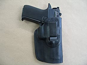 Azula IWB Leather in Waistband Concealed Carry Holster for S&W 4000, 4006, 410, 411 Black RH