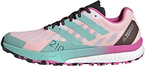 adidas Terrex Speed Ultra W, Zapatillas de Trail Running Mujer, FTWBLA/MENACI/ROSCHI, 38 2/3 EU