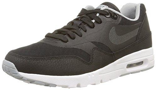 Nike Damen WMNS Air Max 1 Ultra Essentials Sneakers, Schwarz (Black/Wolf Grey), 38.5 EU